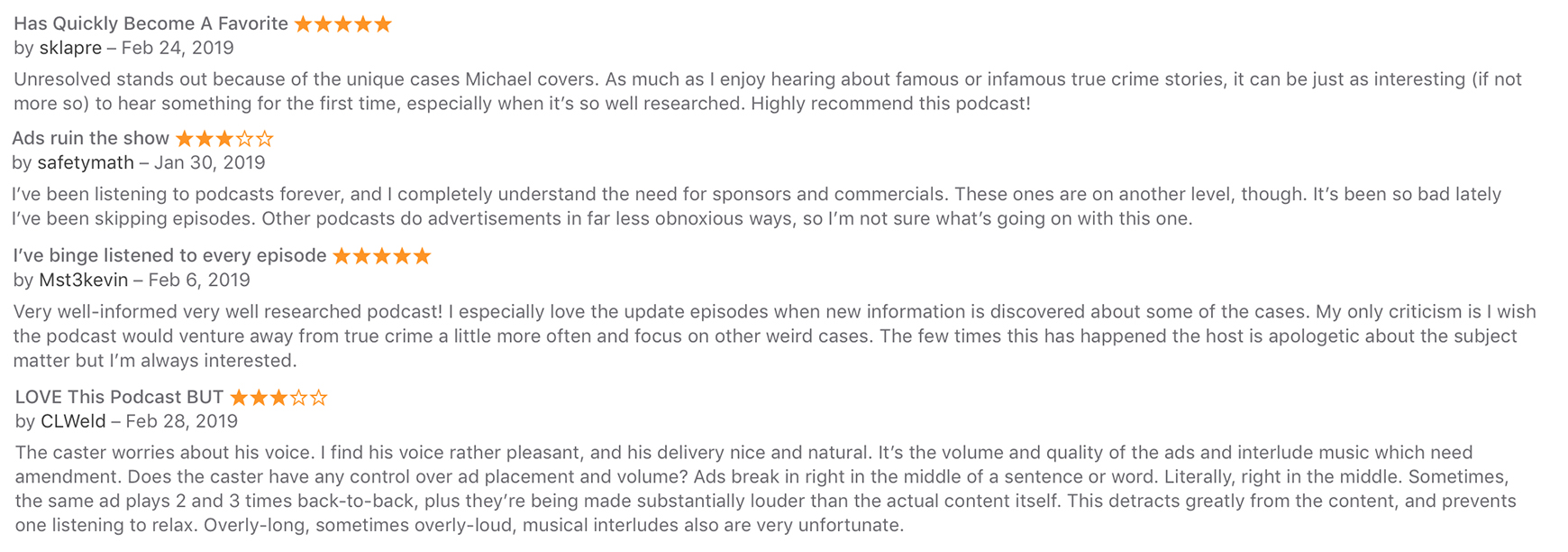Unresolved Podcast
